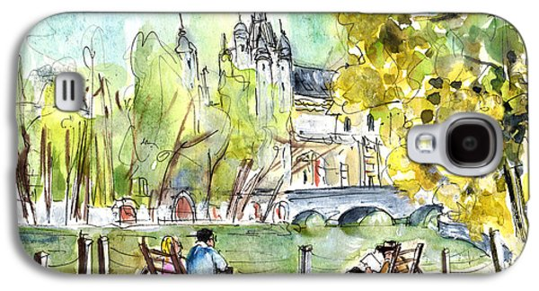 The City Park In Budapest 01 Galaxy S4 Case by Miki De Goodaboom