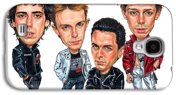 The Clash Galaxy S4 Case by Art