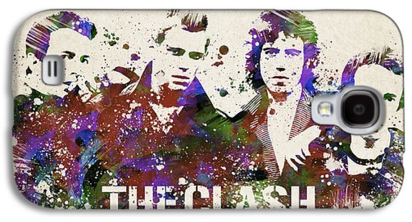 The Clash Portrait Galaxy S4 Case