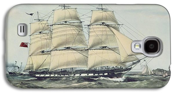 The Clipper Ship Anglesey Galaxy S4 Case by Anonymous