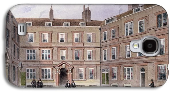 The College Of Advocates, Doctors Commons, 1854 Wc On Paper Galaxy S4 Case by Thomas Hosmer Shepherd