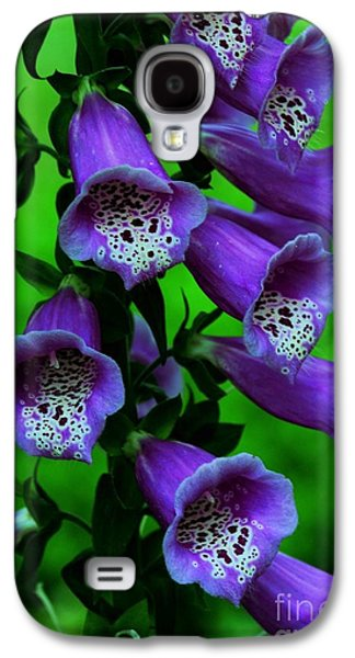 The Color Purple Galaxy S4 Case by Kathleen Struckle