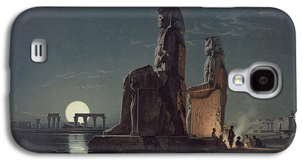 The Colossi Of Memnon, Thebes, One Galaxy S4 Case