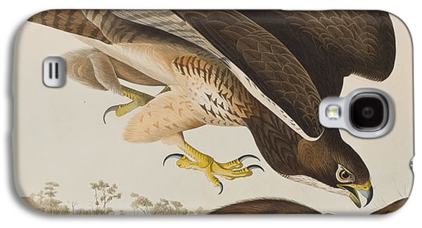 The Common Buzzard Galaxy S4 Case by John James Audubon