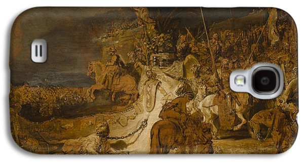 The Concord Of The State Galaxy S4 Case by Rembrandt van Rijn