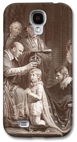 The Coronation Of Henry Vi, Engraved Galaxy S4 Case by John Opie