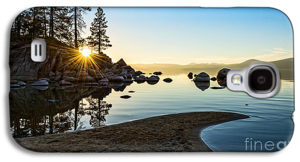 The Cove At Sand Harbor Galaxy S4 Case by Jamie Pham