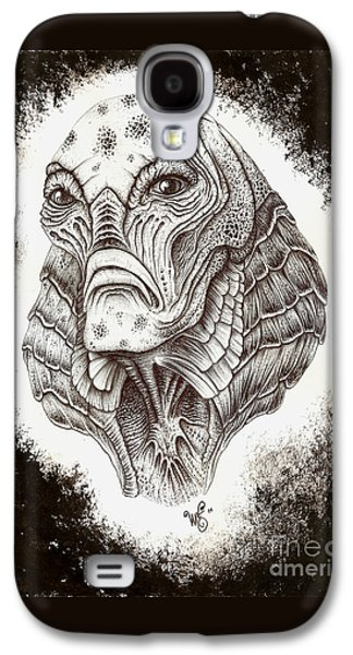 The Creature From The Black Lagoon Galaxy S4 Case by Wave