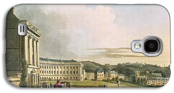 The Crescent, From Bath Illustrated Galaxy S4 Case by John Claude Nattes