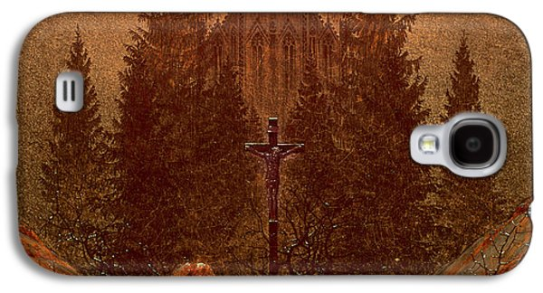 The Cross In The Mountains Galaxy S4 Case