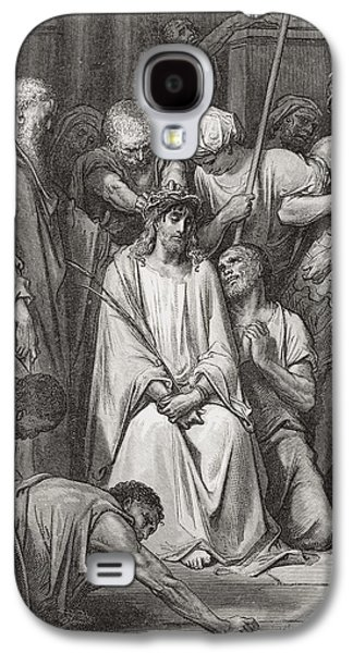 The Crown Of Thorns Galaxy S4 Case by Gustave Dore
