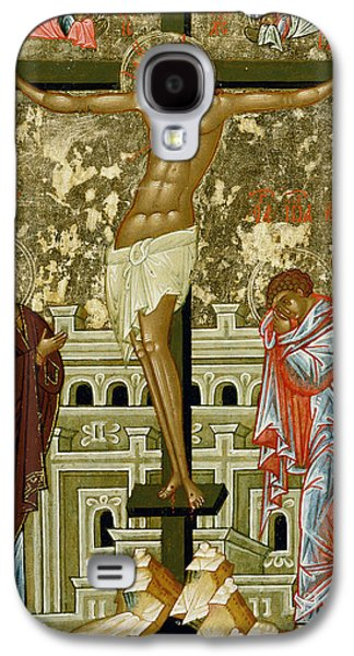 The Crucifixion Of Our Lord Galaxy S4 Case by Novgorod School