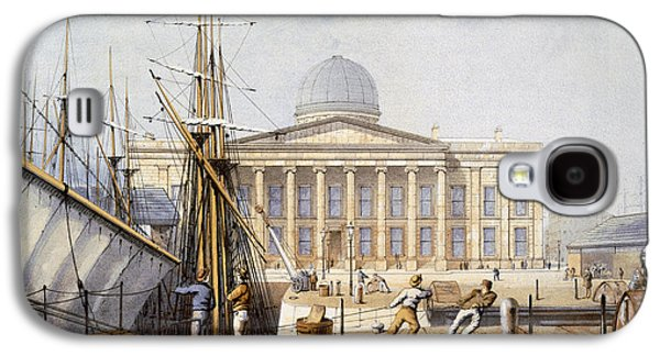 The Customs House And Revenue Building Galaxy S4 Case by William Gavin Herdman