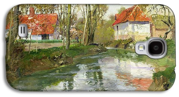 The Dairy At Quimperle Galaxy S4 Case by Fritz Thaulow