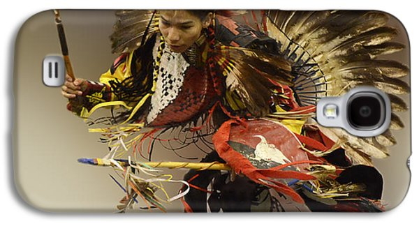 Pow Wow The Dance Galaxy S4 Case by Bob Christopher
