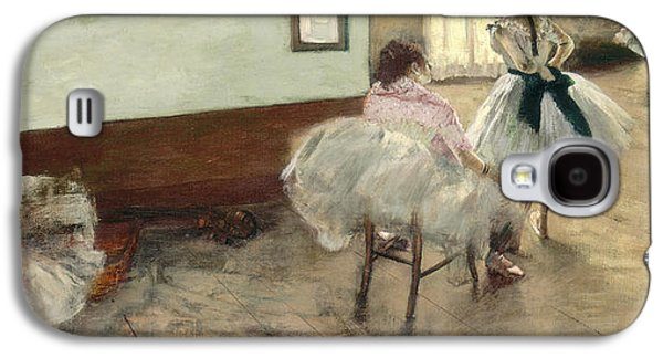 The Dance Lesson Galaxy S4 Case by Edgar Degas