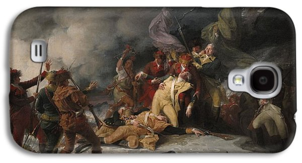 The Death Of General Montgomery In The Attack On Quebec, December 31, 1775, 1786 Oil On Canvas Galaxy S4 Case by John Trumbull