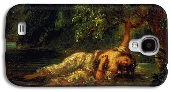 The Death Of Ophelia, 1844 Galaxy S4 Case by Ferdinand Victor Eugene Delacroix