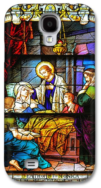 The Death Of St Monica St Augustine Galaxy S4 Case by Christine Till