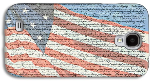The Declaration Of Independence - Star-spangled Banner Galaxy S4 Case