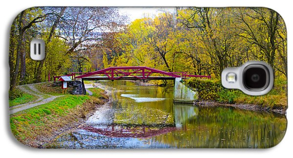 The Delaware Canal Near New Hope Pa In Autumn Galaxy S4 Case by Bill Cannon