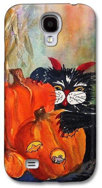 The Devil Made Me Do It Galaxy S4 Case by Ellen Levinson
