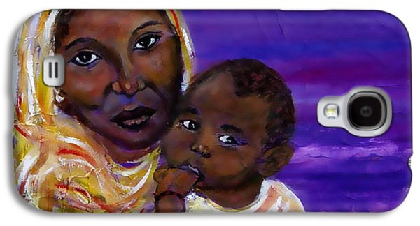 The Devotion Of A Mother's Love Galaxy S4 Case by The Art With A Heart By Charlotte Phillips
