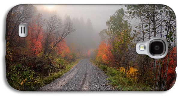 The Dirt Road Galaxy S4 Case by Leland D Howard
