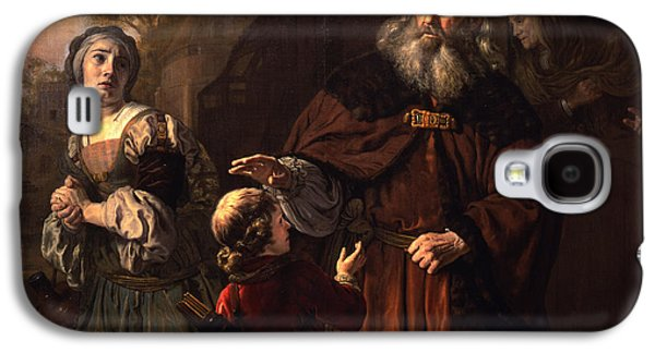 The Dismissal Of Hagar, 1650 Galaxy S4 Case by Jan Victors