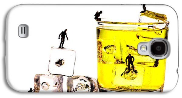The Diving Little People On Food Galaxy S4 Case