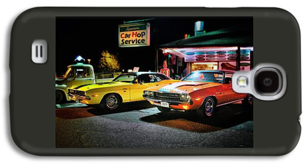 The Dodge Boys - Cruise Night At The Sycamore Galaxy S4 Case by Thomas Schoeller