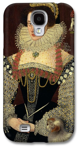 The Duchess Of Chandos Frances, Lady Chandos Inscribed Galaxy S4 Case by Litz Collection