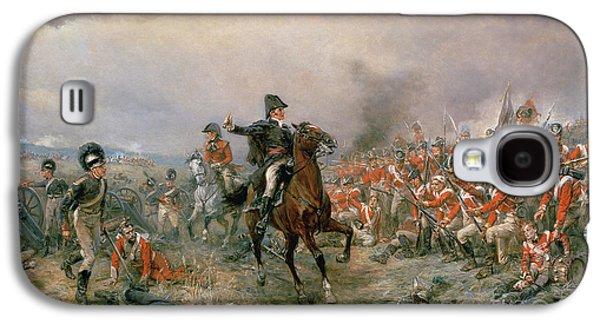 The Duke Of Wellington At Waterloo Galaxy S4 Case