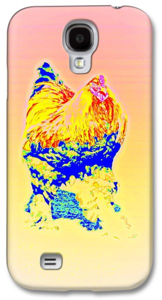 The Egg Warmer Is Flying Again  Galaxy S4 Case by Hilde Widerberg