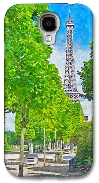 The Eiffel Tower In The Spring Of 2014 Galaxy S4 Case