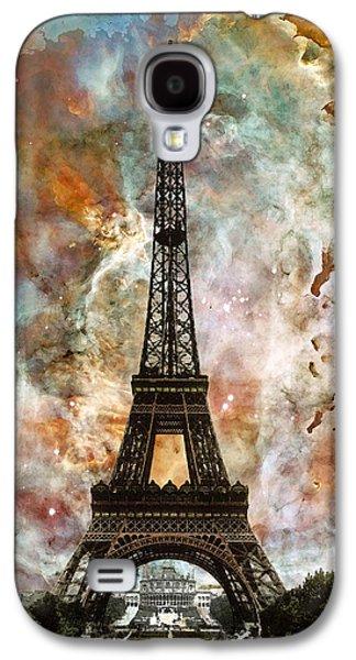 The Eiffel Tower - Paris France Art By Sharon Cummings Galaxy S4 Case
