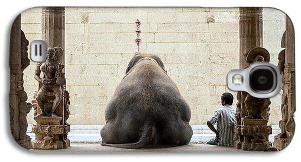 The Elephant & Its Mahot Galaxy S4 Case