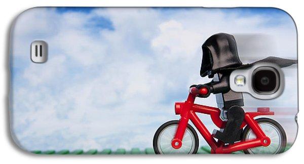 The Emperor's New Bike Galaxy S4 Case by Samuel Whitton