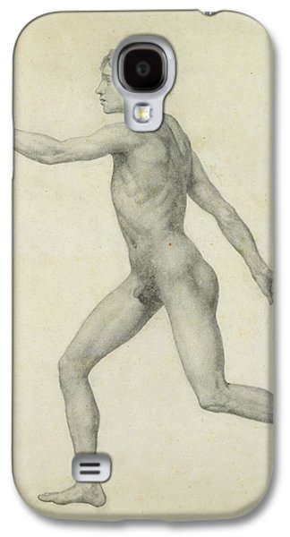 The Entire Human Figure From The Left Lateral View Galaxy S4 Case