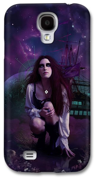 The Explorer Galaxy S4 Case by Cassiopeia Art