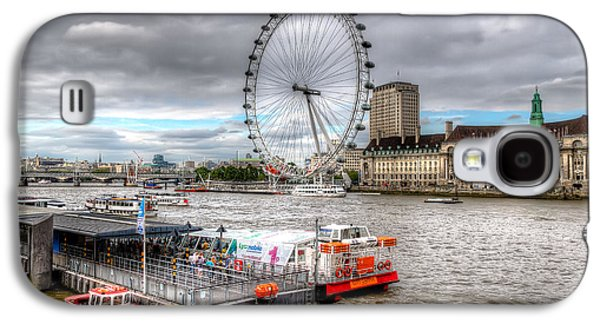 The Eye Across The Thames Galaxy S4 Case by Tim Stanley