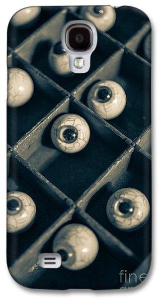 The Eyes Have It Galaxy S4 Case by Edward Fielding