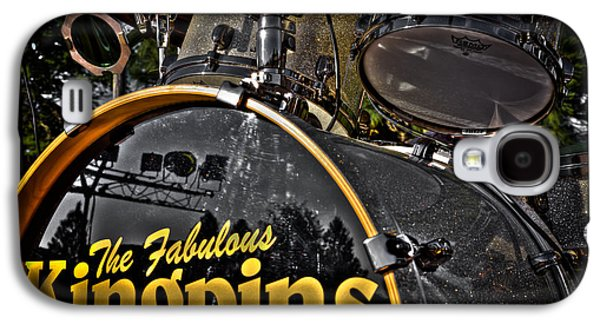 The Fabulous Kingpins Drums Galaxy S4 Case by David Patterson
