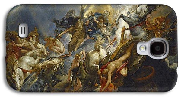 The Fall Of Phaeton Galaxy S4 Case by  Peter Paul Rubens