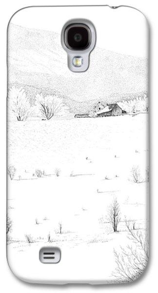 The Farm Galaxy S4 Case by Carl Genovese