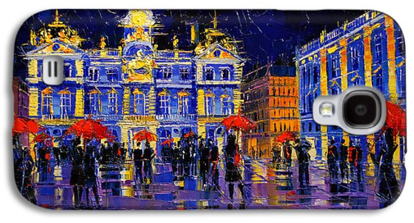 The Festival Of Lights In Lyon France Galaxy S4 Case