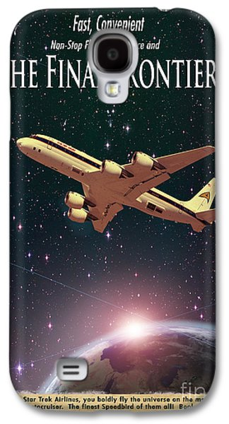 The Final Frontier Galaxy S4 Case by Juli Scalzi