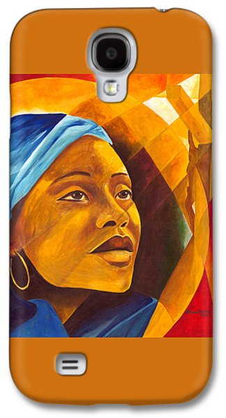The First Mother Galaxy S4 Case by Patricia Brintle
