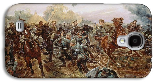 The First Vc Of The European War, 1914 Galaxy S4 Case by Richard Caton II Woodville