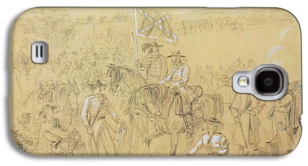 The First Virginia Cavalry At A Halt Galaxy S4 Case by Alfred R Waud
